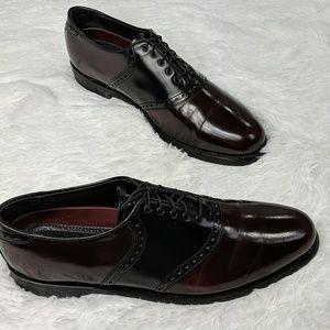Florsheim patent leather oxford lace up dress shoe